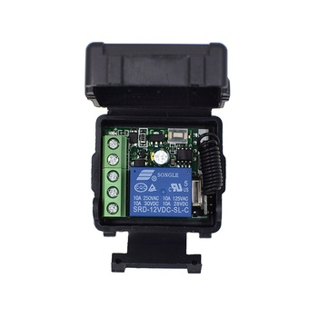 DC 12V 10A Relay 1CH Wireless RF Remote Control Switch Transmitter + Receiver High Quality