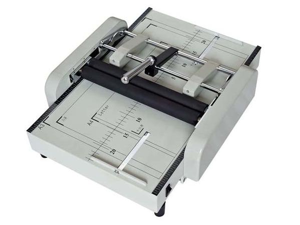 ZY1 Elektrische A3 A4 Dubbele Hoofden Automatische Boekje Maken Binding Vouwen Machine
