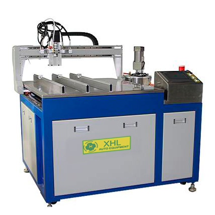 XHL-30B Industry equipment glue potting epoxy filling machine xyz dispenser robot machine