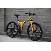 bicycle GT- R Mountain Bike Aluminum 26 MTB Bicycle 21 Speed Gears Disc Brake mountain bike carbon folding bike