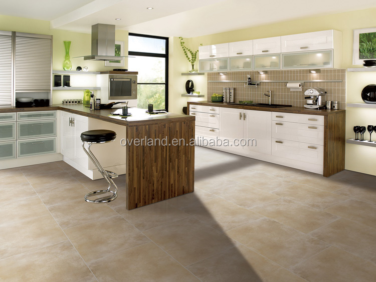 Rustic Concrete Style Matt Finish Porcelain Cement Tile Grey Color Tiles