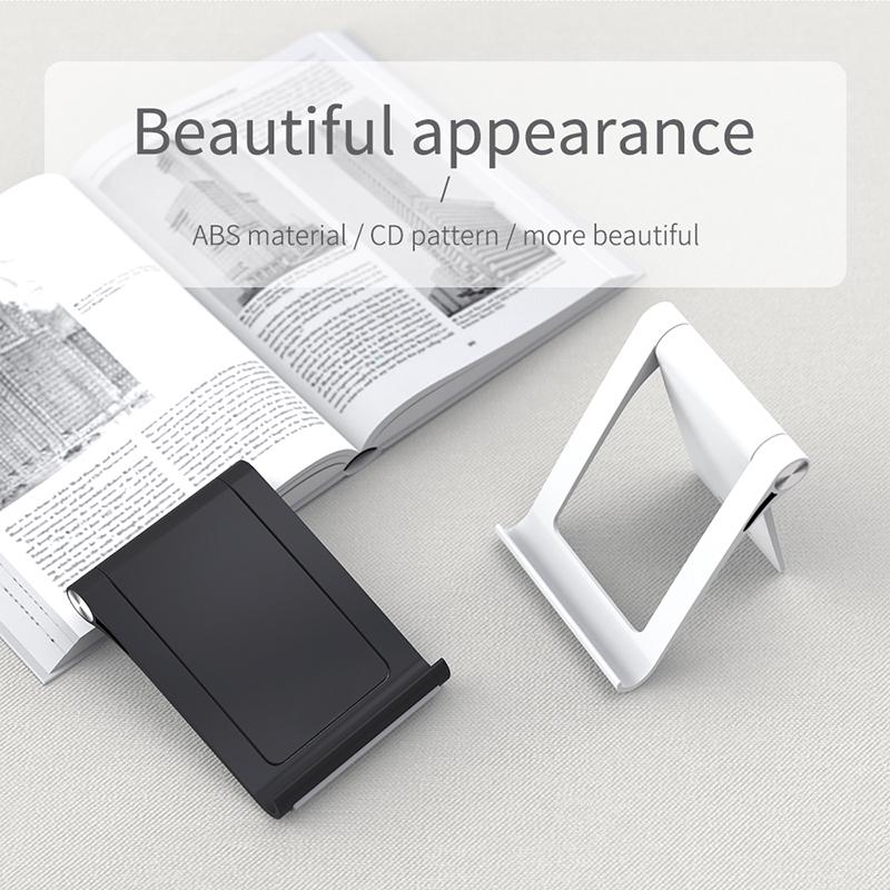 Universale Del Telefono Mobile Del Supporto Del Basamento Pieghevole Del Supporto Per Il Telefono Per il iPhone Scrivania Tablet Del Basamento