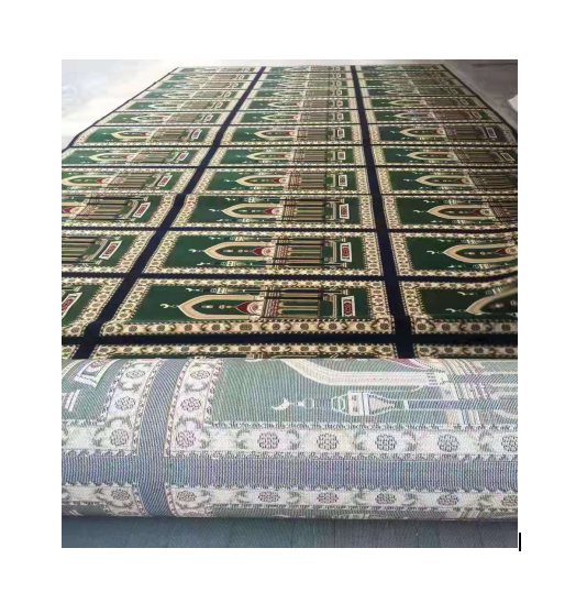 Muslim Wholesale wall to wall prayer room for mosque rolled carpet