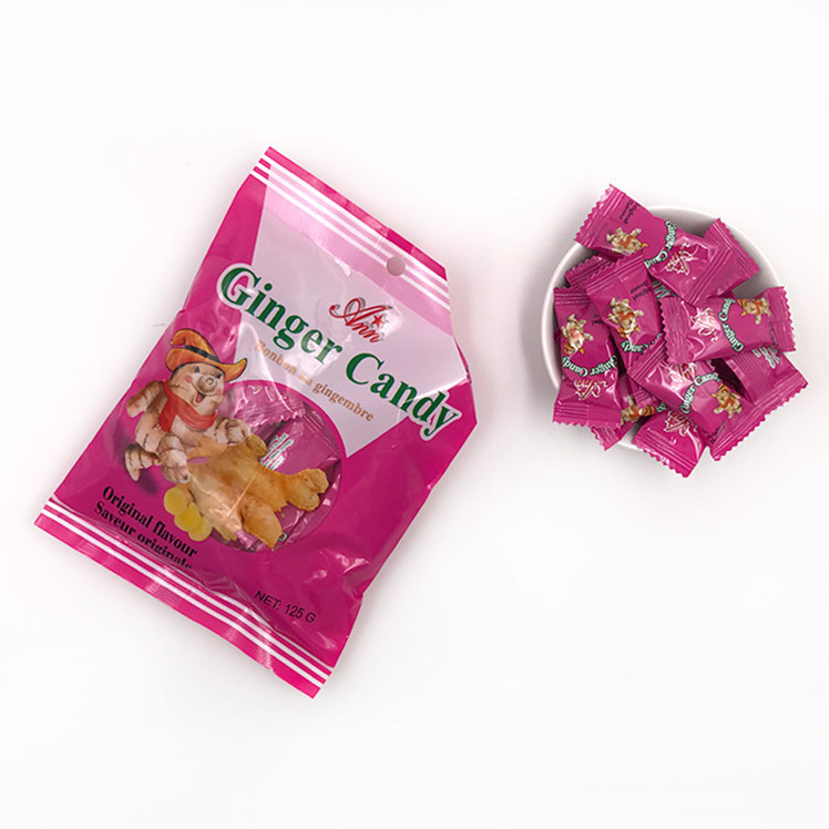 Wholesale ginger candy hard ginger sweets candy for health