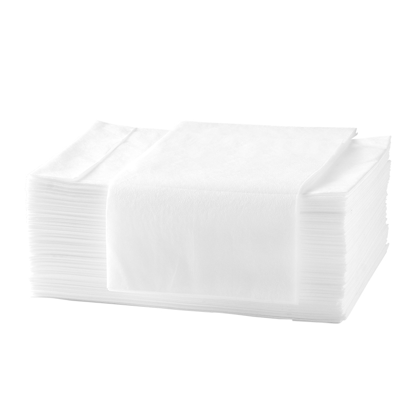 Pearl pattern non-woven thickened disposable foot towels  hotels, families and salons hot-selling foot bath towels
