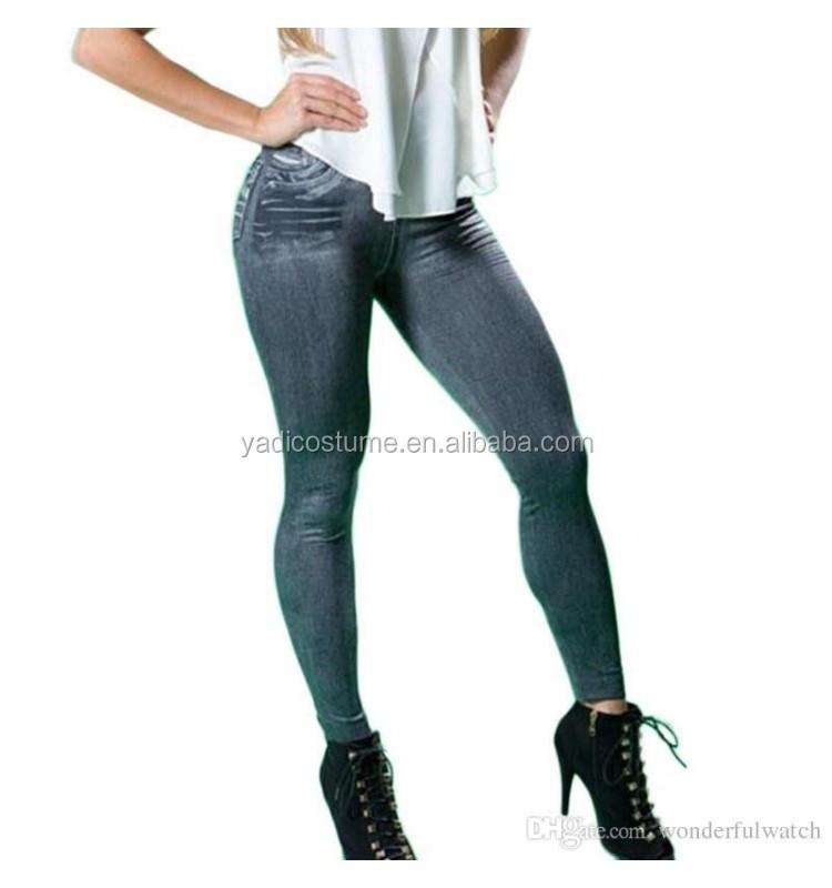 5cs Artı Boyutu S-XXL Kadın Polar Astarlı Kış Jegging Kot Genie Ince Moda Jeggings Tayt 2 Gerçek Cepler Kadın Spor pa