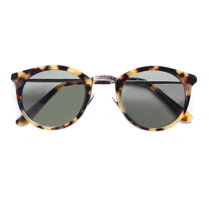 Mazzucchelli Fashion Vintage Unisex Custom Logo Design Sun Glasses Occhiali da sole Gafas de sol Polarized Acetate Sunglasses