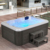 outdoor hot tub skirting/ garden whirlpool/ whirlpool outdoor simple