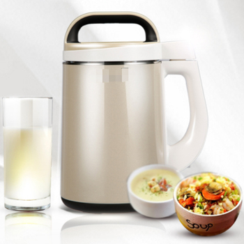 Pengfaies Multifunctional Easy Cleaning Automatic Soy Milk Maker 1.3l For Family Multiple Soup Maker