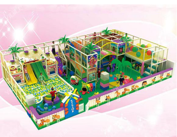 Attractive forest series children's paradise for indoor play