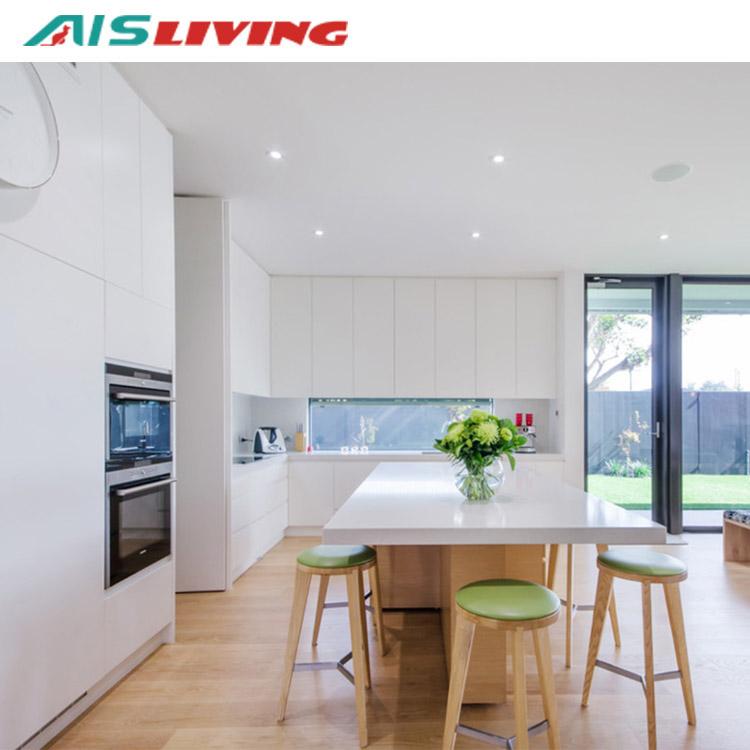 Australia menjual seperti kue panas modular dapur desain kabinet untuk dapur furniture (AISKI-067)