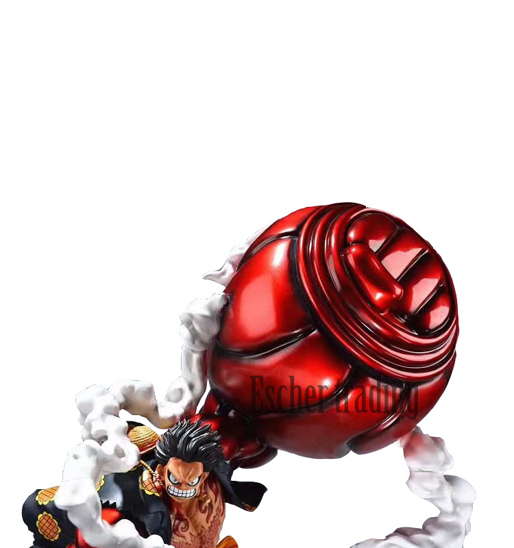 Een Stuk Gk Super Grote Luffy Gear Fouth Action Figure