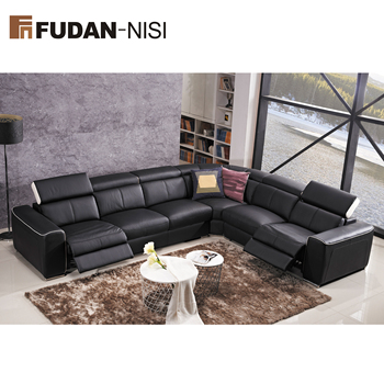 Sectional Modern Leather Corner Sofa
