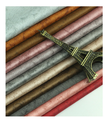 New Arrival 95% Polyester 5% Spandex Knitting Print Faux air Suede Fabric for garments