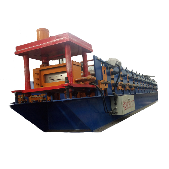 steel door frame automatic roll forming machine