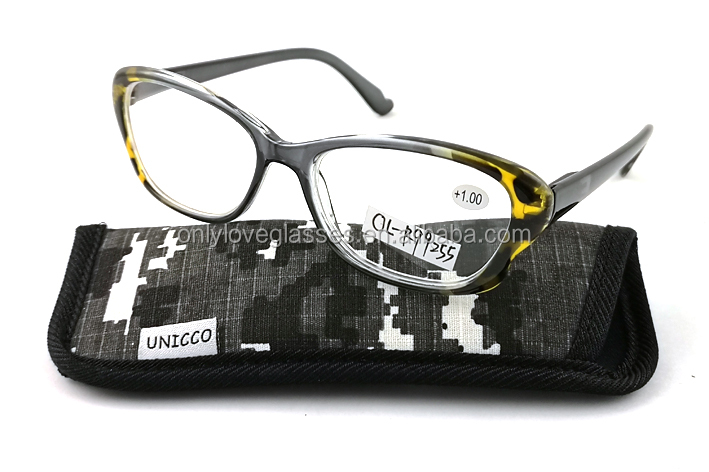 Cat eyereading glasses plastic,Blue light blocking glasses,fashionable reading glasses bags
