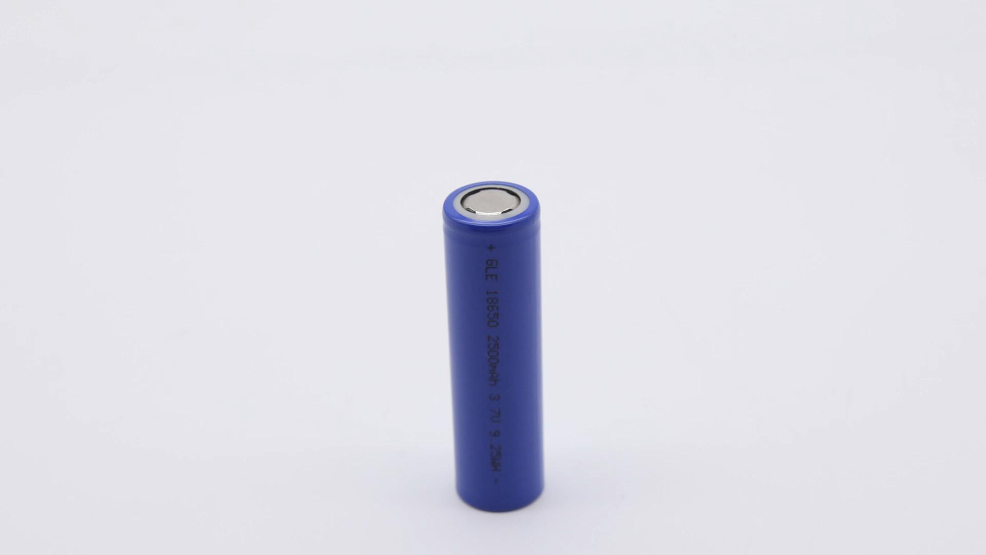 מכירה לוהטת על שוק גלילי ליתיום יון ifr 18650 1350mah 3.2v סוללה נטענת