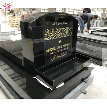 Wholesale Black Granite Tombstone South Africa Flower Bed Design Granite Cheap Tombstones In Zimbabwe