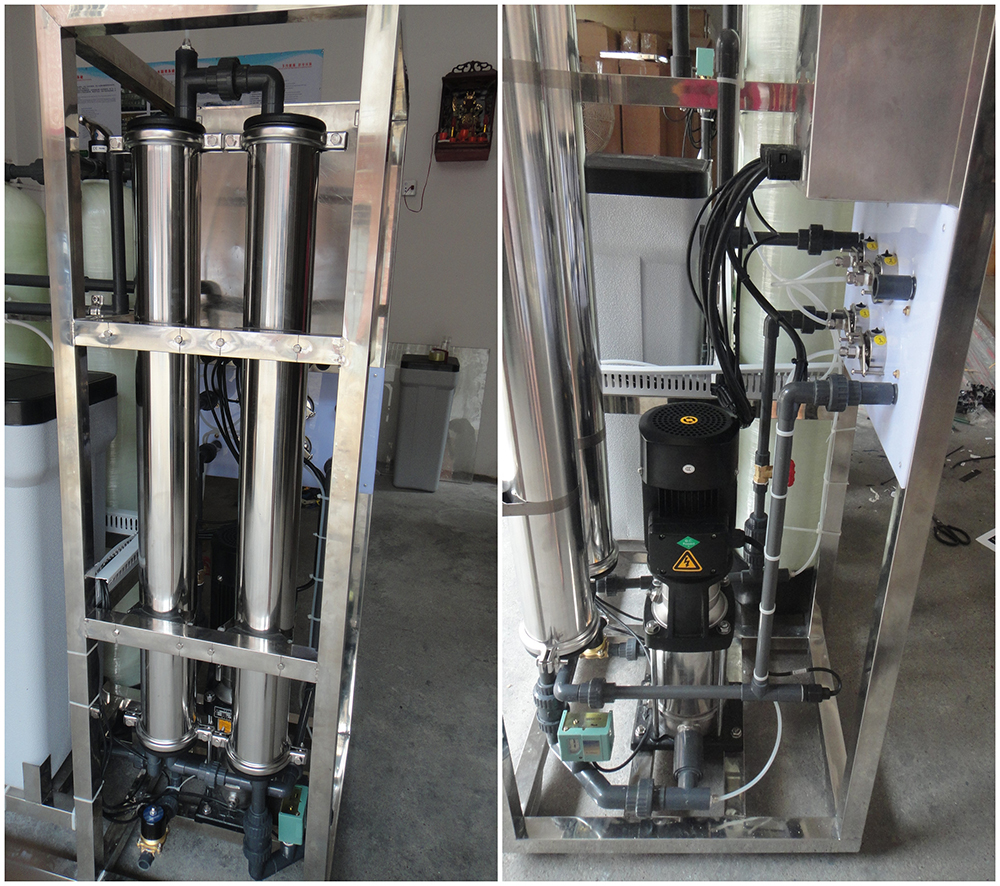 product-500 Lph Ro Plant Small Reverse Osmosis China Design Commercial Deep Well Purification Price -1