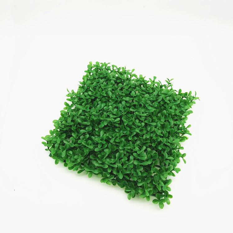 Qualità durevole parete pianta artificiale foglie di erba recinzione