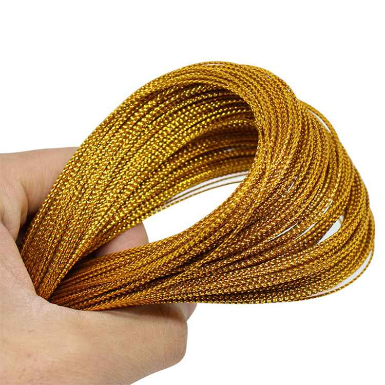 Jewelry Thread Cord Diy Tag Line, Gold Cord Gift Packaging String