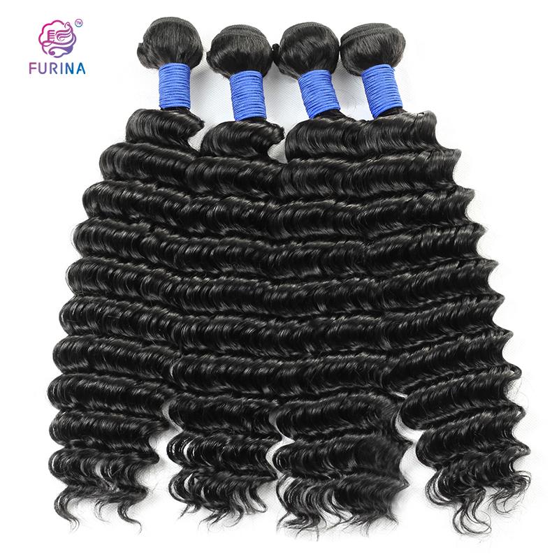 Hot sale deep wave weft human hair 100% raw virgin brazilian hair cuticle aligned human hair extension