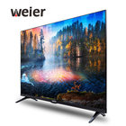 "weier 32""50""65""inches Borderless Kitchen Oem factory Bathroom hotel Support television 4K HD smart LED TV"