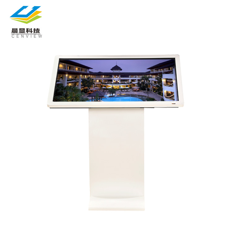 43/50/55/65 zoll touchscreen stand werbung player, touchscreen multi lcd ad-player kiosk