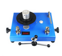 Piston pressure gauge pressure calibrator dead weight tester