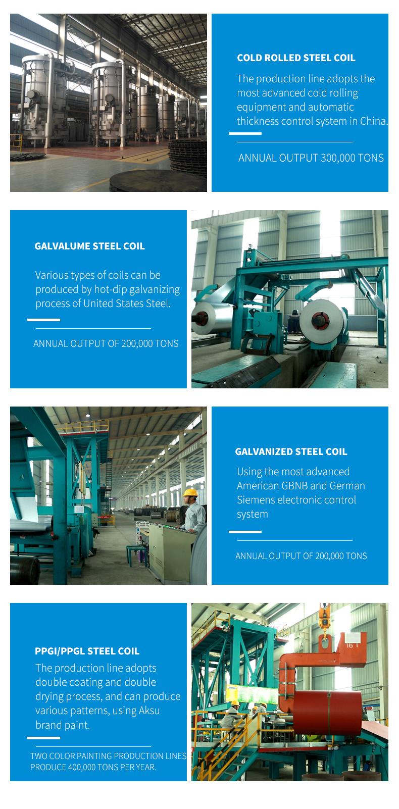 Cina Manifattura z275 rivestimento di zinco in lamiera di acciaio piatto placcato reggette rivestito