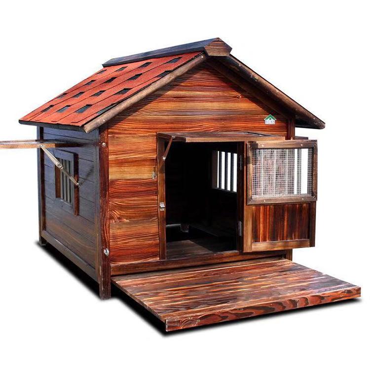 Outdoor Large Soild Wood Pet Cat Dog