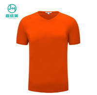 JHM J6070# Top Quality Mens Cheap Orange T Shirt Custom Clothing Mens Tee