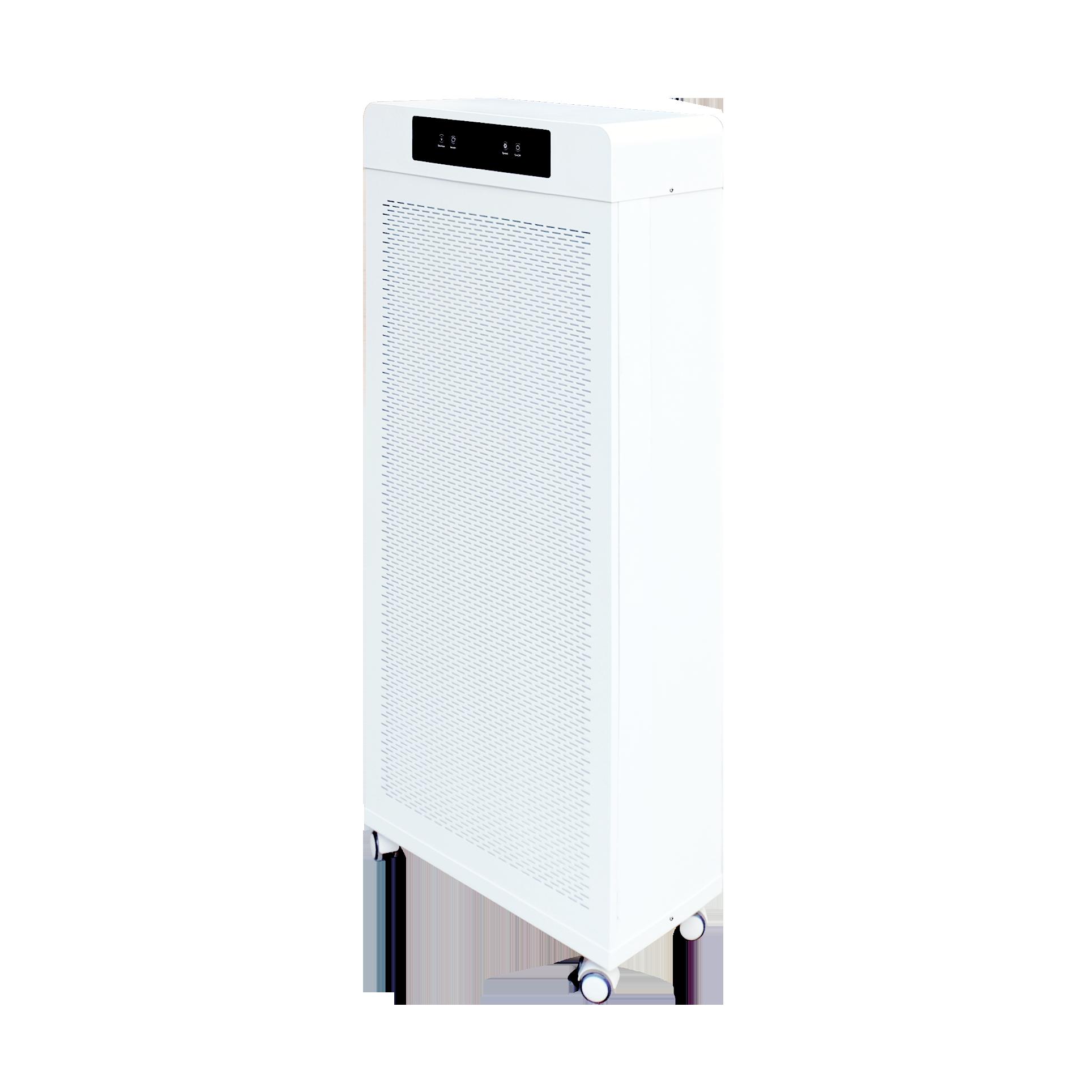 Медицинского применения больших комнаты, офиса, UVC свет стерилизации воздуха очиститель PM2.5 светодиодного табло с отрицательными ионами плазмы H13 очиститель APP управление