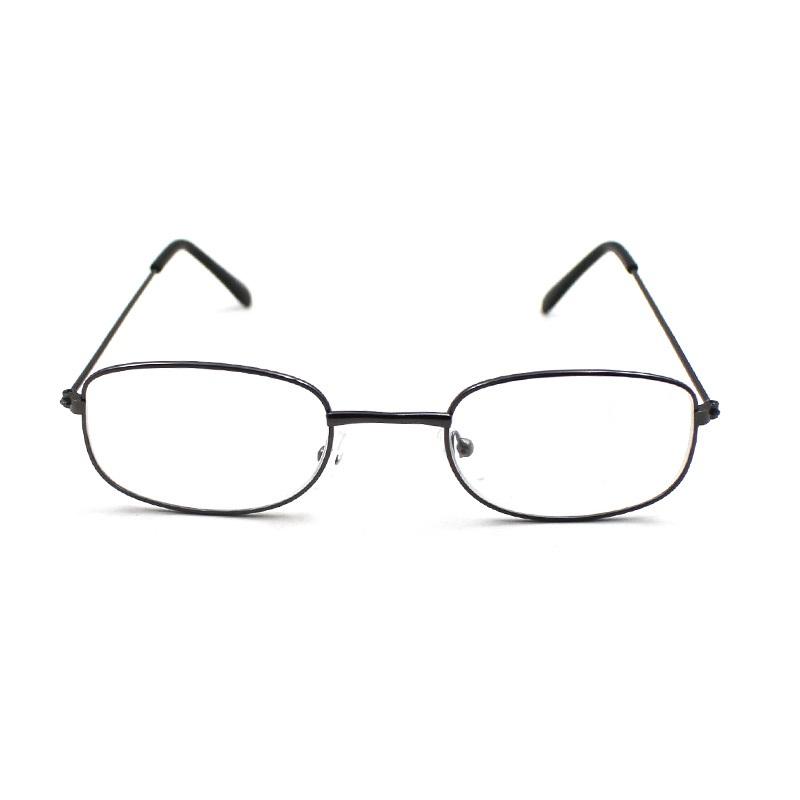 Cheap metal frame eyewear women men reading glasses