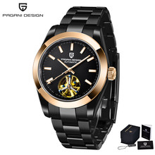 Мужские механические часы Tourbillon PAGANI, дизайнерские автоматические часы для мужчин, роскошные брендовые наручные часы для мужчин, 2020(Китай)