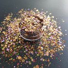 Supply different colors glitter nail gel eye makeup glitter with LOW MOQ