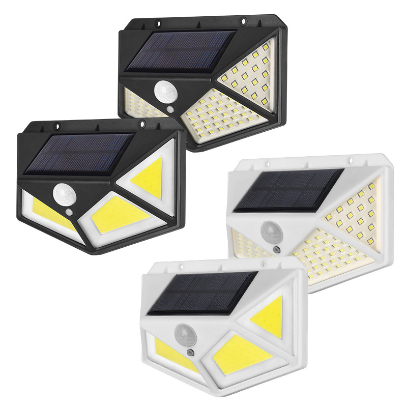 100 <strong>LED</strong> <strong>Outdoor</strong> Solar Motion Sensor <strong>Lights</strong> 3 Modes 270 Wide Angle IP65 Waterproof Security <strong>light</strong>