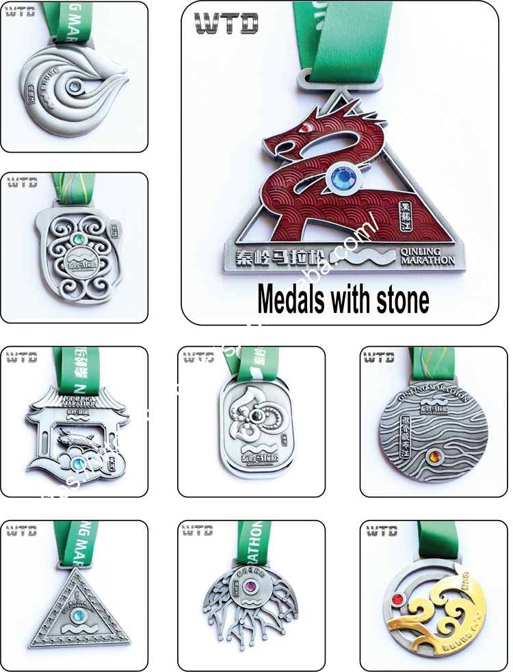 Mais recente projeto Do Dragão 3D antigo finisher medalha com fita