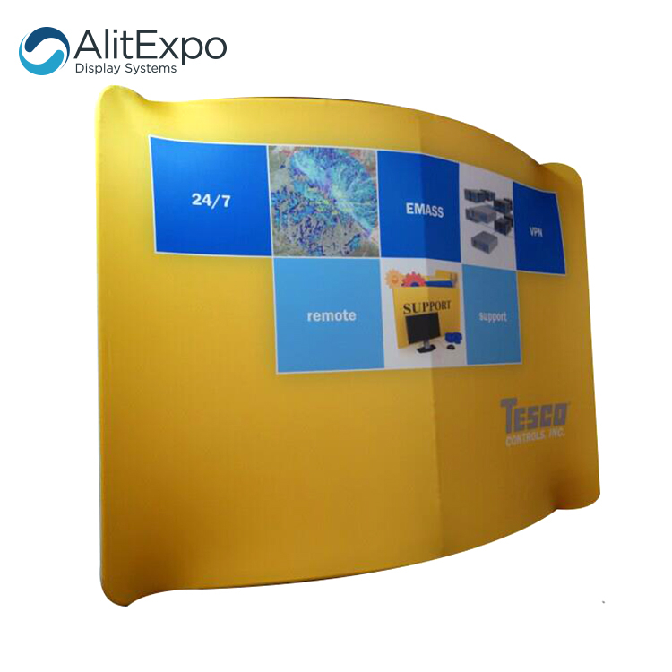 Hot sales custom tension fabric photo booth backdrop