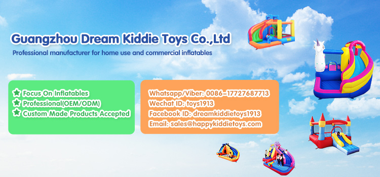 Happy Kiddie Toys Best Sale cheap Backyard inflatable water slides for sale