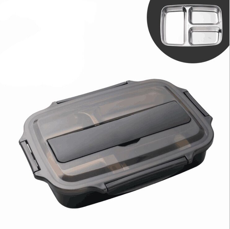 Wholesale Multifunction Lunch Box Stainless Steel Plate