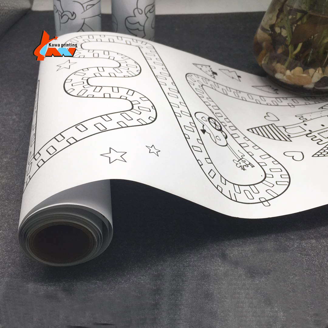 Educational Kids Toys Coloring Painting Paper Drawing Paper Roll