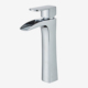 High quality waterfall face basin faucet mixer flat spout bathroom basin faucet