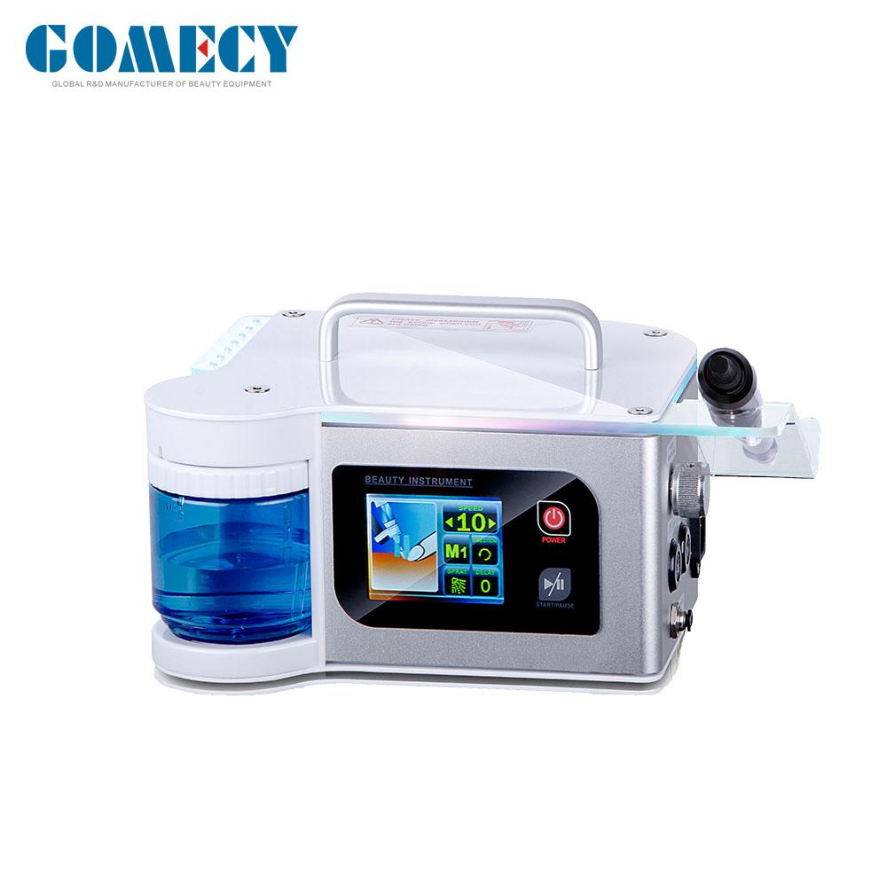 GOMECY Korea Handpiece Machines Polisher pedicure Polishing Nail Gel Machine WITH WATER SPRAY