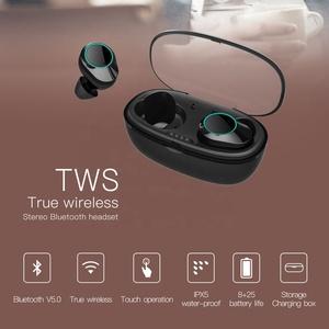 IPX7 Waterproof Headphone Earphone Wireless TWS G05 Wireless Earbuds 3500mAh Battery Easy Paring Bluetooth Earbuds