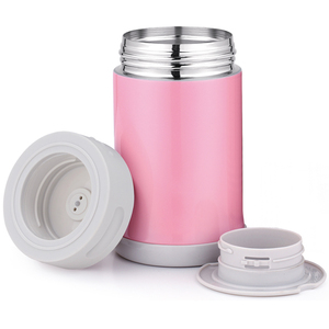 2019 Wholesale Leak Proof Cook Soup Food Thermos Vacuum Flask BPA Free Soup Keep Hot Stainless Steel Bottle