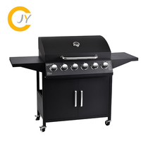 China suppliers Outdoor Barbecue grill Charcoal Gas Comb BBQ Grill CE