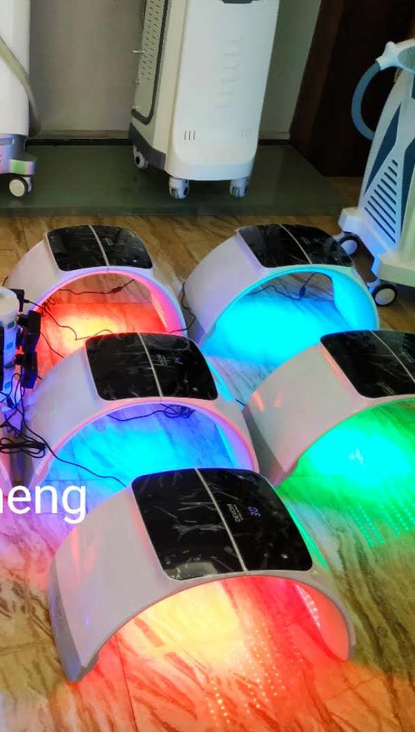 Niansheng 2020 Портативный LED pdt машина цветной фотонный светодиод спа кожи против старения энергии омоложение led фототерапии для лечения акне