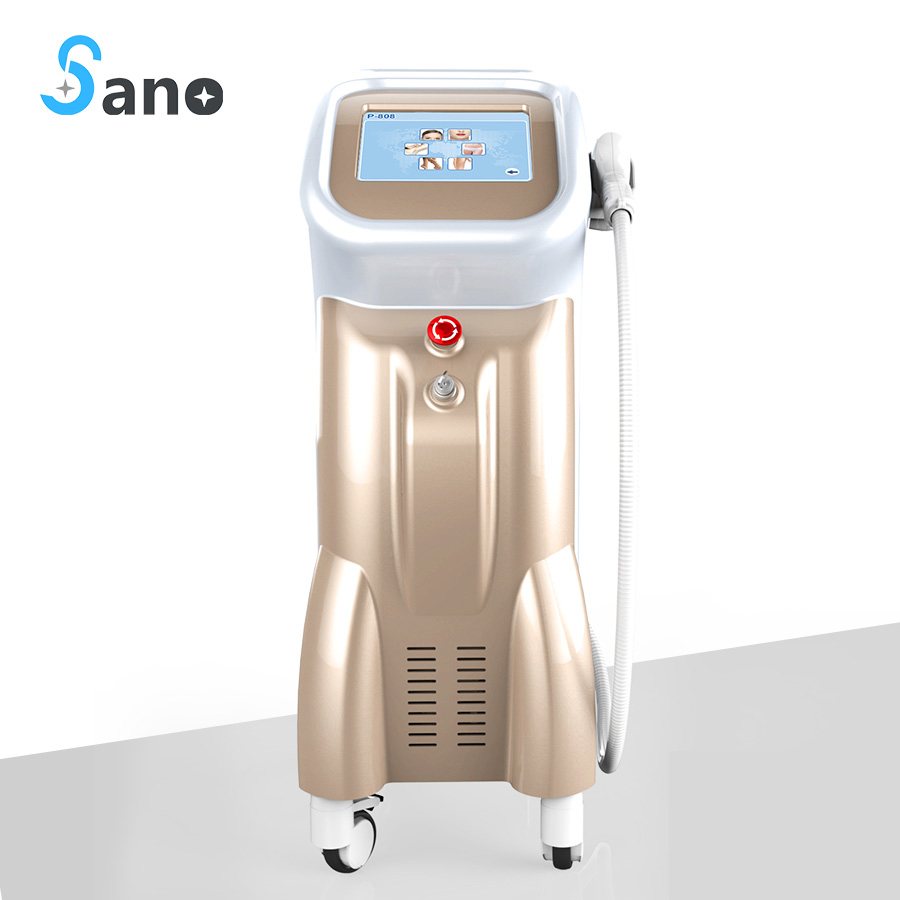Beauty Equipment Experts 808 Fiber Optional Diode Laser Hair Removal For Salon