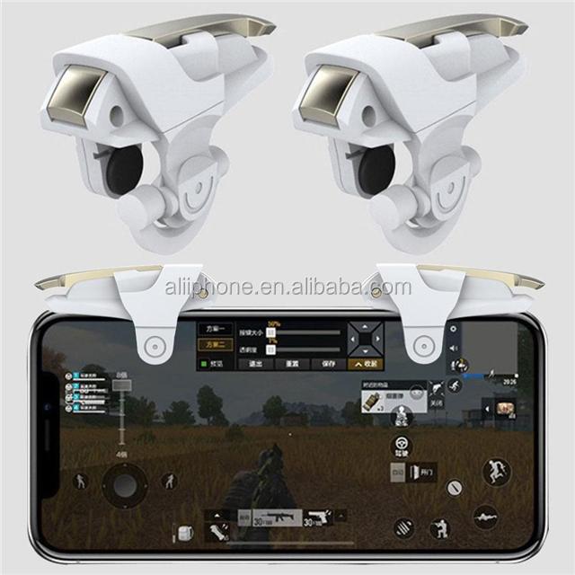 Sensitive L1R1 mobile buttons joystick&game controller for pubg triggers